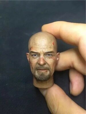 """1/6th Breaking Bad Walter White head sculpt  For 12"""" HT Male Action"""