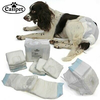 Dog Puppy Diapers Disposable Nappy Bitch Season Heat Menstrual Sanitary S M L XL