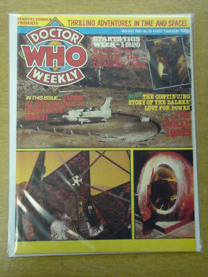 Doctor Who #39 1980 Jul 10 British Weekly Monthly Magazine Dr Who Dalek Cybermen