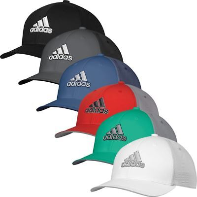 4a7c4cb22eb adidas Golf Mens ClimaCool Stretch Fit Tour Golf Cap
