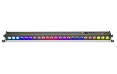 Stagg Architectural colour bar 24 x 4w (4 in 1) RGBW Leds 1.1m Dmx 96W 4Kg