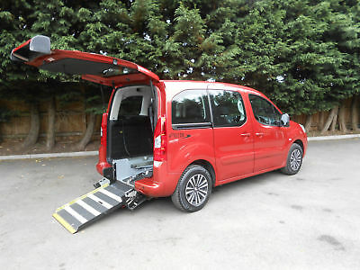 2012 Peugeot Partner 1.6HDi Wheelchair Accessible Vehicle.