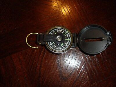 Antique Engineers Lensmatic Compass - Works Great!