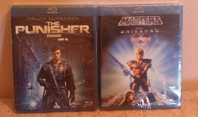 Pack 2 Blu-ray Dolph Lundgren;The Punisher(Vengador)+Masters del universo