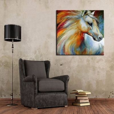 CHENPAT121 modern beautiful horse art oil painting 100% hand-painted on canvas