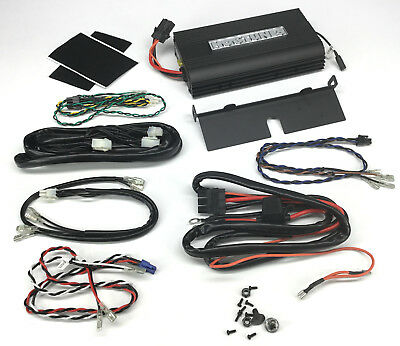 Hogtunes 200W Amplifier Kit Black (NCA450-AA)