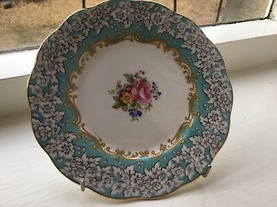 """Royal Albert Enchantment 7"""" Tea Plate Made In England, Excellent Condition"""