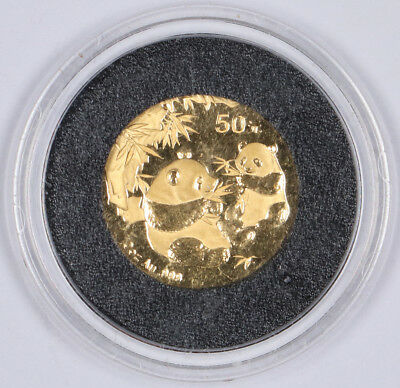 2006 1/10oz .999 Gold Panda China 50 Yuan G50Y BU Unc Key Date