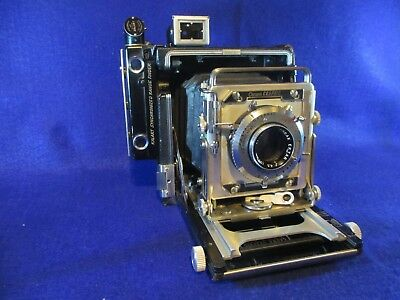 Graflex 2X3 Camera With Film Holders And Light Meter & Case