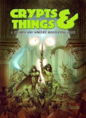 D101 OSRIC RPG Crypts & Things Remastered SC VG+