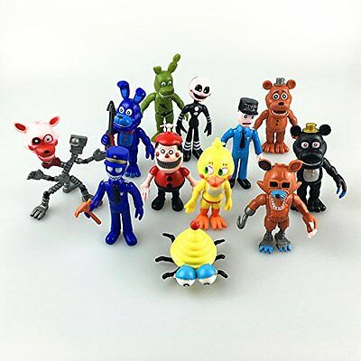 12PCS Five Nights At Freddy's Fnaf Game Action Figures Toys Kids Gifts US STOCK