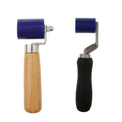 45MM+40MM Silicone Roller Seam Hand Pressure Roller for Hot Air Welding 2PCS
