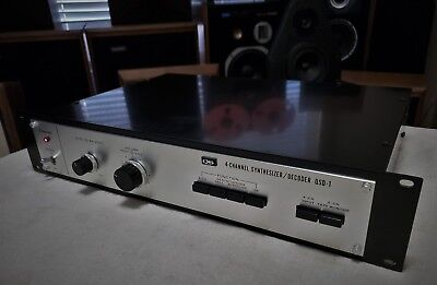 Sansui QSD-1 - QS Four Channel Synthesizer Decoder - Multi-100-240v Very Rare A+