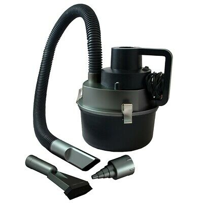 Wet & Dry Auto Vacuum Cleaner 12 V Dc Power Plug Suitable For Car Boat