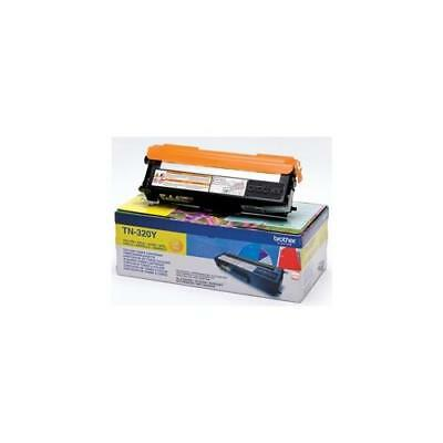 TN320Y Brother Laser Toner Cartridge Page Life 1500pp Yellow