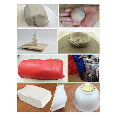800g Super Clay Air Drying Soft Polymer Modelling Clay Kids DIY Project Kit