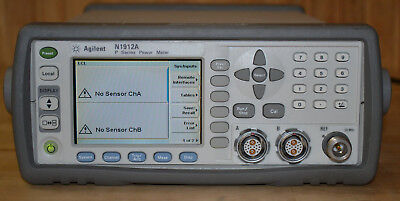 Agilent Keysight N1912A P-Series High Performance Power Meter, Dual Channel GOOD