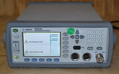 Agilent Keysight N1914A EPM Dual Channel Power Meter GOOD