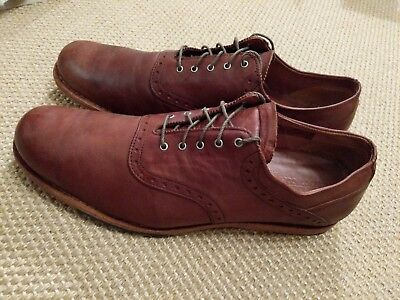 CHAUSSURES VILLE BASSES Timberland homme Woodhull Leather Oxford taille Marron