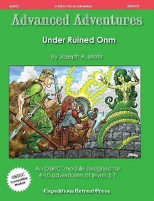 Expeditious Retreat OSRIC RPG Under Ruined Onm SC MINT