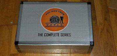 The Man from U.N.C.L.E. (uncle) Complete Series 41 DVD Box Set NEW & SEALED