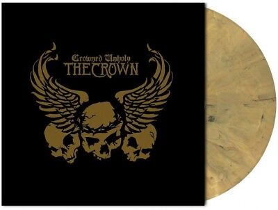 THE CROWN - Crowned Unholy [GOLD/MARBLED] (LP)