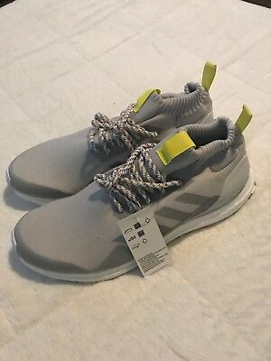 best sneakers 7c2d9 80f19 Adidas Ultra Boost Mid Grey White And Yellow Size 11.5