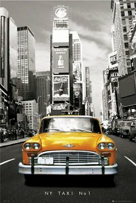 New New York Taxi Number 1 New York, USA Poster