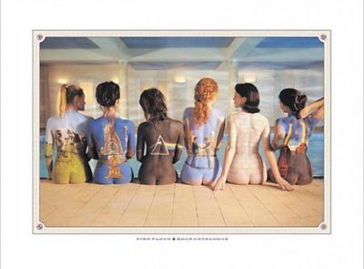Pink Floyd Print Back Catalogue Campaign Poster 80x60cm