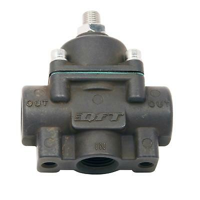Quick Fuel 30-805QFT Low Pressure Regulator, Methanol, Black