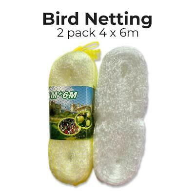 Anti Bird Netting Garden Gardening Net Mesh Fruit Veg Pond Protect Cover 2pack