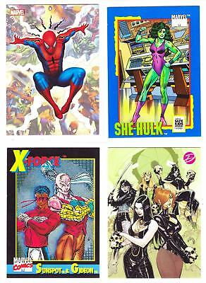 MARVEL COMICS PROMO CARDS--Lot of 16 Mixed Promo Cards^^