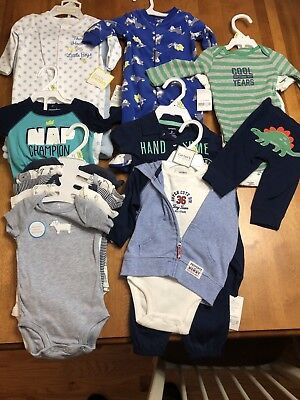 Baby Boys 3 Mos Lot 14 Pcs