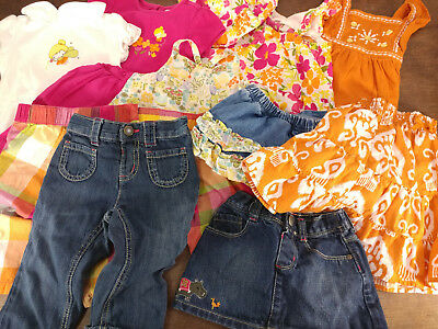 c6bd118c763 Lot of Baby Toddler Girls 18-24 months Gymboree Spring Summer Clothes -  NICE!