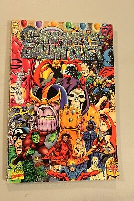 RARE Infinity Gauntlet TPB 1st Edition Printing 1992 1 2 3 4 5 6 Thanos Movie