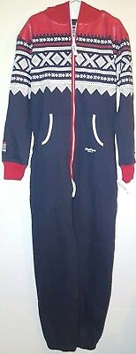 Marius made by Onepiece NAVY/WHITE/RED Size Medium NWT