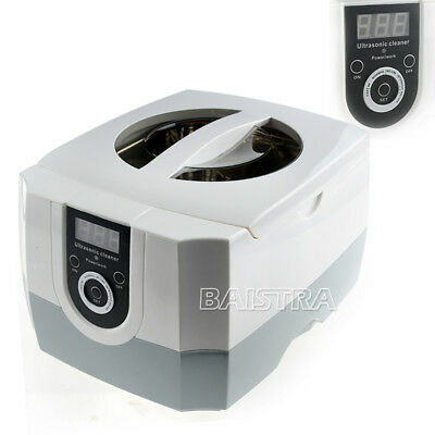 Dental Digital Ultrasonic Cleaner Pro Cleaning Equipment Clean Time Display