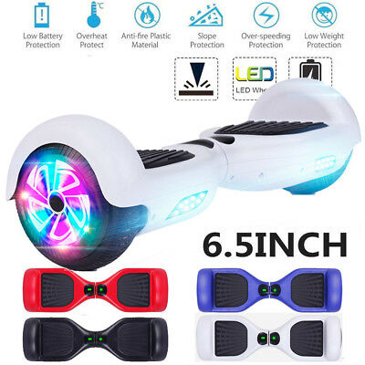 NEW SELF BALANCING SCOOTER ELECTRIC SCOOTER BALANCE BOARD+FREE BAG + Frontlights