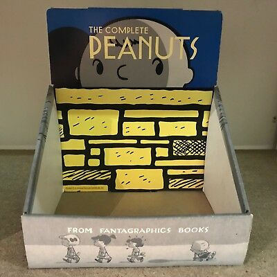 Complete Peanuts Display Box by Fantagraphics - Snoopy Charlie Brown Lucy Linus