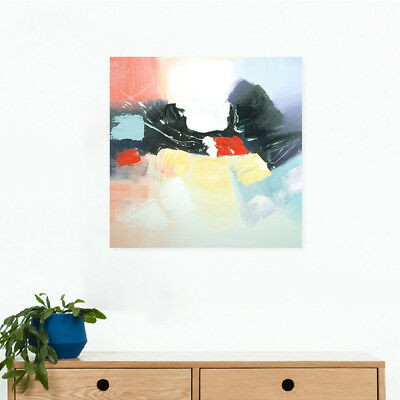 Framed Abstract Hand Painted Oil Painting Stretched Canvas Wall Art Home Decor