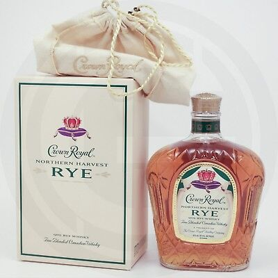 Crown Royal Northern Harvest Rye Canadian Whiskey 45 Vol.% - 0,75L