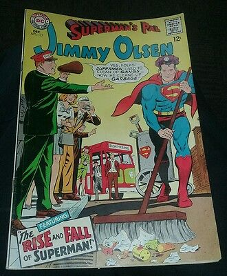 Superman's Pal Jimmy Olsen #107 VG action dc comics silver age 1967 classic issu