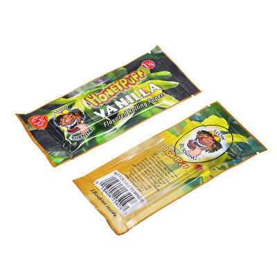 2 booklets HONEYPUFF 78 MM VANILLA Flavored Rolling Papers Cigarette Paper 1 1/4