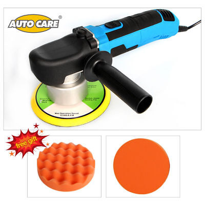 "6"" 680W Electric Car Polisher Machine Dual Action Variable 6 Speed Polish Buffer"