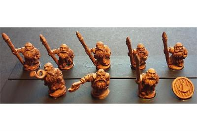Battle Valor Dwarians 15mm Dwarian Shame Bearers w/Spears and Shields Pack MINT