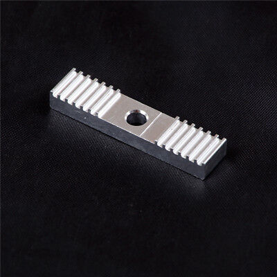 Aluminum Gear Fixed Holder Backet 9*40mm for 2GT Timing Belt 3D Printer Tu