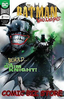 Batman Who Laughs #2 (Of 6) (2019) 1St Printing Main Cover Dc Universe ($4.99)