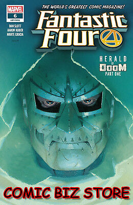 Fantastic Four #6 (2019) 1St Printing Esad Ribic Main Cover Marvel