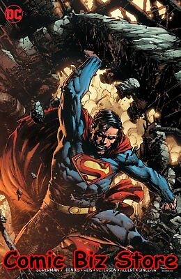 Superman #7 (2019) 1St Printing David Finch Variant Cover Dc Universe