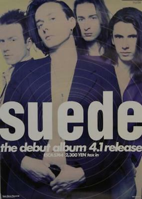 The Debut Album 4.1 Release Suede poster Japanese promo 28.5 X 20 EPIC/SONY